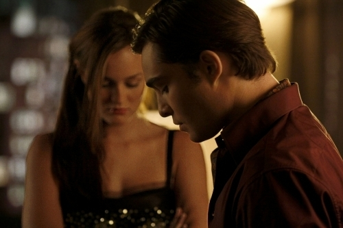 Nate: She's lighter,she's happier...Ah she's just less Blair. / Chuck:She does have a certain glow about her, doesn't she?