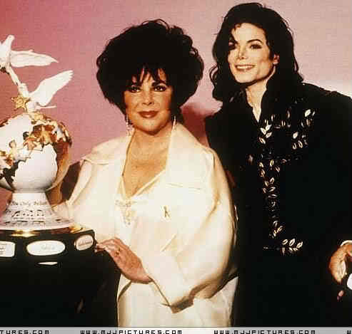 Good friend, Dame Elizabeth Taylor, was the godmother of Michael's two older children, Prince and Paris