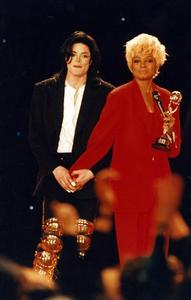 Who is this lady in the photograph with Michael Jackson