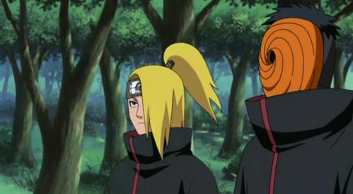 Who is that boy next to Obito?