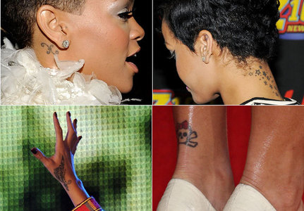 Which of Rihanna's tattoos is her favourite one?