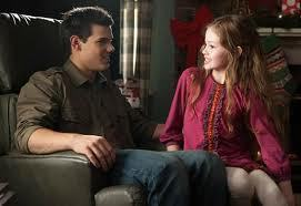 Is Bella happy that Jacob imprinted on Renessmee?