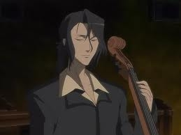 Why does he play the cello?