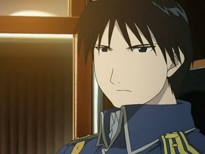 Which character shares the same english voice actor with Roy Mustang from Fullmetal Alchemist?