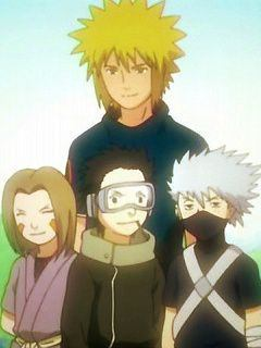 Who attacked Kakashi's team back then and captured Rin?