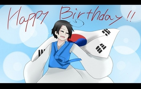 When is South Korea's birthday?