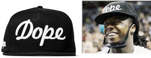 THIS DOPE HAT IN LIL WAYNE ALSO BEING WEAR BY ONE OF BIG BANG MEMBERS. PICK THE MEMBER