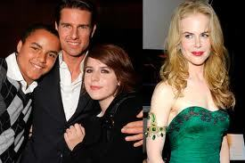 Who are they the adopted children for Nicole Kidman and Tom Cruise?