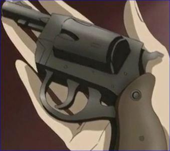 When Zero gave Yuki a gun what was it called?
