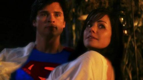 True or False: Lois knew Clark was the blur before he told her?