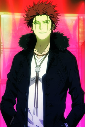 Who is Suoh Mikoto's seiyuu?