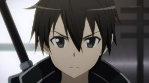 "What was the special ""Trump Card"" that gave kirito the 50 hit combo against the Blue Demon?"