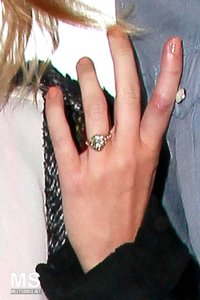 Miley's ring is made by......