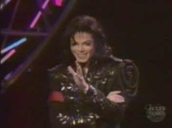 "This photograph was taken at ""The Jackson Family Honors"" awards show back in 1994"