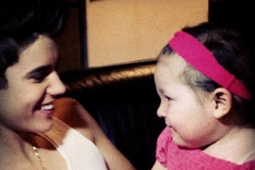 What baby girl other than his sister ( Jazmyn) does justin really really care about