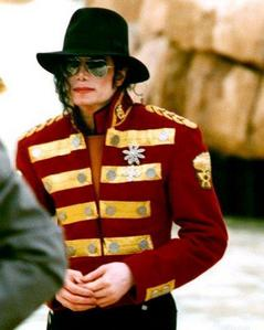 This photograph of Michael was taken while on tour in South Africa back in 1997