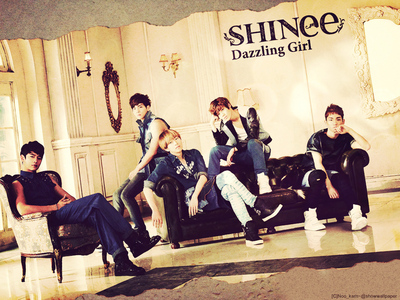 who begins to sing in dazzling girl's song?