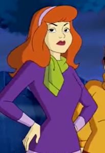In this fan spot, which way has Daphne's name NOT been misspelled?