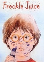 "Who is auteur of ""Freckle Juice""?"