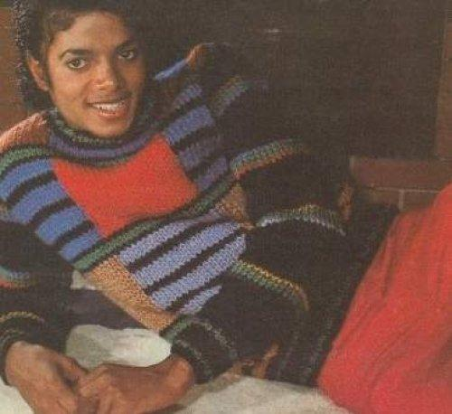 This photo of Michael was taken somewhere in the 1980's