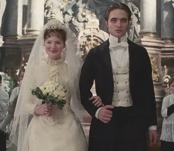 Was Clotilde at the wedding?