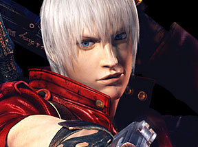 Does Dante cry in the end of the game ?