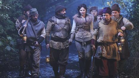 Where did Snow White first meet Grumpy?