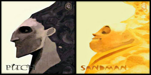 Pitch and The Sandman are Identical spirits, but one is potentially più lethal than the other.