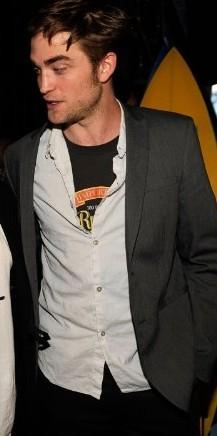Robert Pattinson at...