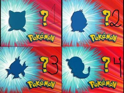 Who are these pokemons!