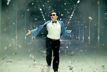 Who was Psy's musical inspiration?