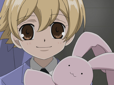 In the dub of Ouran Host Club, the voice of Honey voiced which character in Hetalia?