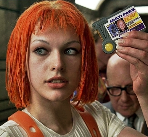 "Who did she play in ""The Fifth Element""?"