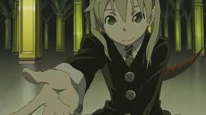 Who's Maka looking at?