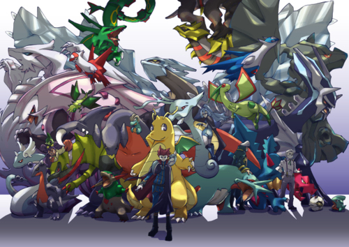 What is the best type combo to resist and attack a Dragon type pokemon?