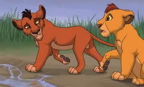 What are the names of Mufasa and Scar's parents?