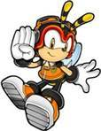 Who does Charmy Bee Liebe (not in Archie Comics)