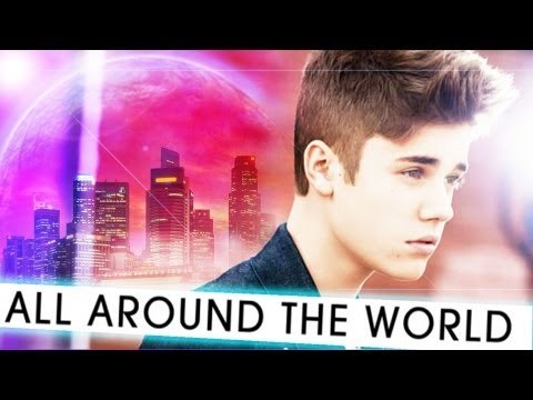 who have ft Justin in song All Around The World