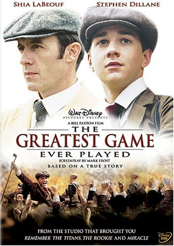 "Who cried watching The Hollywood movie, ""The Greatest Game Ever Played"" ?"