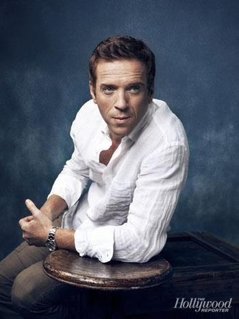 What Actress stars with Damian Lewis on TV Series Homeland?