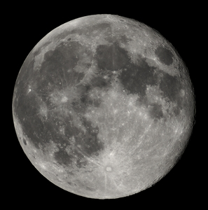 What is the name of Earth's moon?