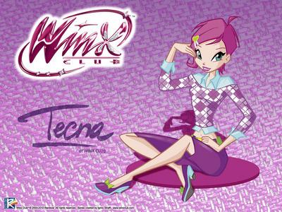 Finish this sentence: Tecna's pixie is.........