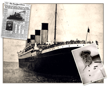 When did the Titanic 'set sail'?