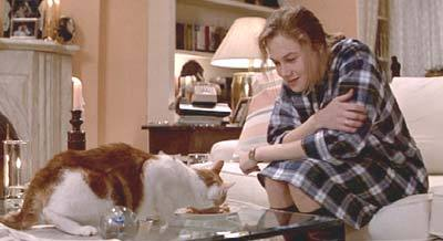 "What was the name of Kathleen Turner""Joan Wilder's cat"" on Romancing the Stone?"