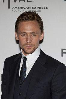 What film is Tom Hiddleston in that is being filmed at the moment?