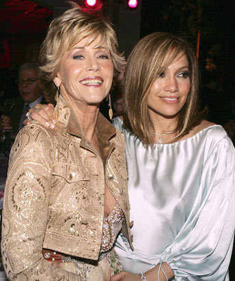 Jennifer co-starred with Jane Fonda in...