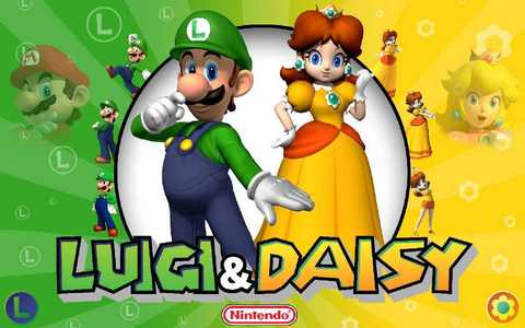 Did Luigi And daisy Are Friends atau Wife (married each other)