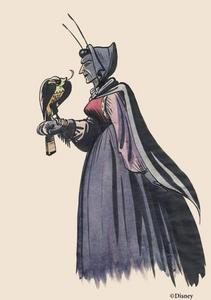 This is concept art of which Disney villain?