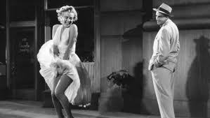 "Tom Ewell portrayed Marylin's love interest in the 1955 film, ""The Seven Year Itch"""