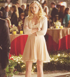 Caroline: Nice Snowflake,By the Way. Klaus Respond by saying?
